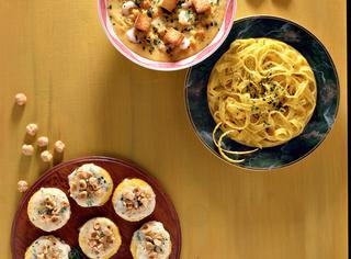 Ricetta Crema di lenticchie ai gamberi