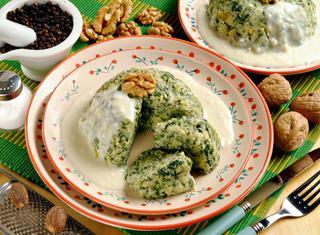 Sformatini di spinaci e caciotta