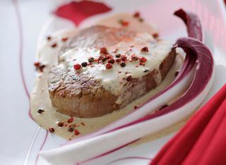 Ricetta Filetto al pepe rosa