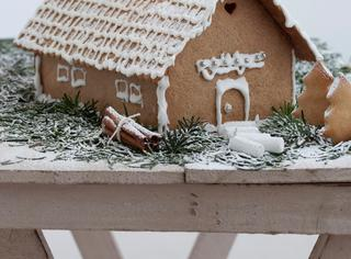 Ricetta Gingerbread house o casetta di pan di zenzero