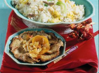 Riso basmati fritto di Chaozhou