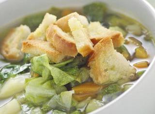 Ricetta Zuppa di verdure con crostini