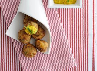 Polpettine speziate in salsa curry