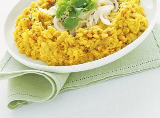 Ricetta Dhal speziato con lenticchie rosse