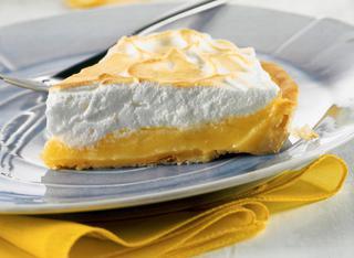Torta di limone meringata