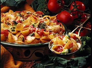 Gratin di pasta e broccoletti