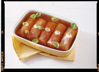 Involtini di prosciutto cotto e insalata russa