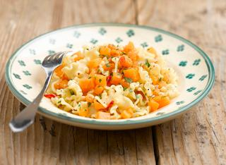 Ricetta Pasta con la zucca alla napoletana