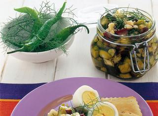 Ricetta Melanzane e zucchine alle mandorle