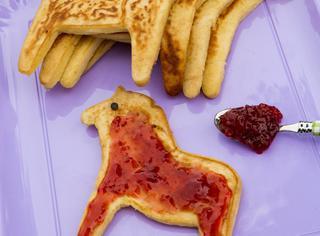 Pancake alla marmellata