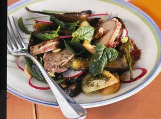 Filetto di maiale con spinaci