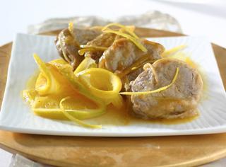 Ricetta Filetto di vitello all'arancia