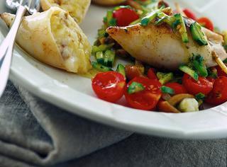 Ricetta Calamari ripieni alle verdure