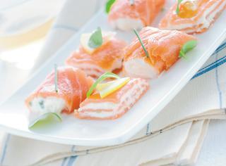 Bocconcini estivi di salmone