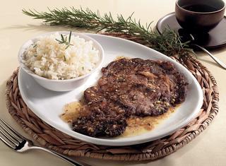 Roast beef in salsa esotica