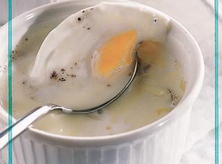 Uova in cocotte  con tartufo e formaggio