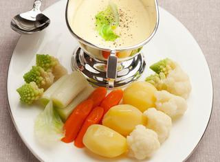 Verdurine miste con zabaione salato