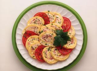 Omelette arrotolata