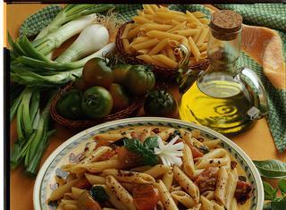 Penne al paté di olive