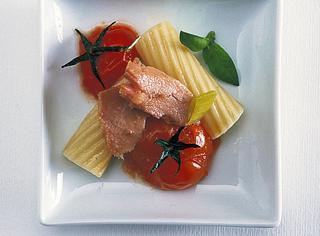Pasta al tonno e pomodorini