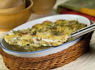 Ricetta Tortino di patate e funghi