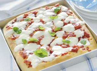 Ricetta Pizza Margherita soffice al taglio