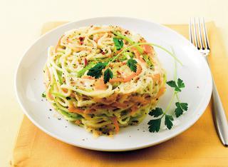 Sformatini di spaghetti