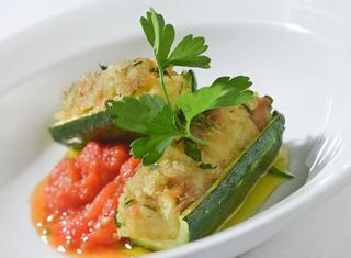 Ricetta Zucchine ripiene al tonno