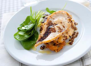 Ricetta Fettine di pollo al parmigiano reggiano