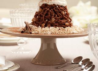 Ricetta Montebianco di castagne al cioccolato