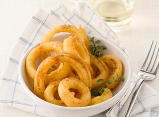 Ricetta Anelli di cipolla fritti al curry