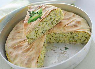 Ricetta Torta con riso e zucchine