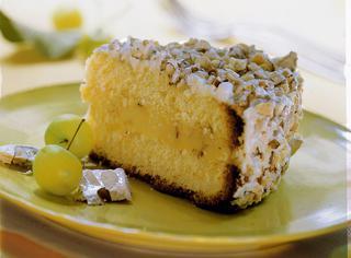 Ricetta Torta Margherita con crema al torrone