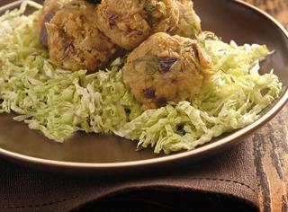 Crocchette di soia e verza
