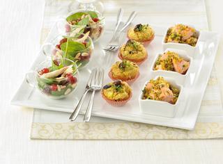 Secondi piatti misti: carne, pesce, uova