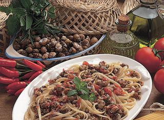 Ricetta Linguine con le lumache di mare