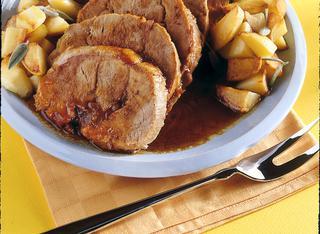 Come fare l'arrosto di vitello con le patate