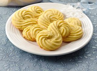 """Ricetta Biscotti a """"esse"""" con farina gialla"""