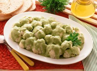 Cavolfiore in salsa verde ricetta