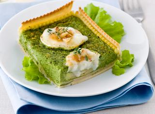 Ricetta Crostata di spinaci