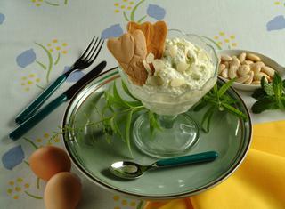 Sorbetto di zucchine al latte di mandorle