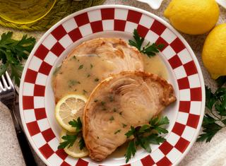 Ricetta Pesce spada con salsa al limone