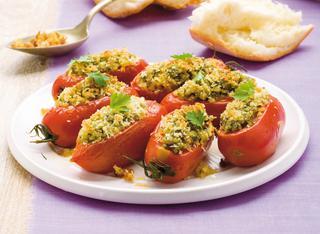 Pomodori ripieni gratinati alle erbe