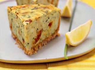 Cheese cake salato al limone