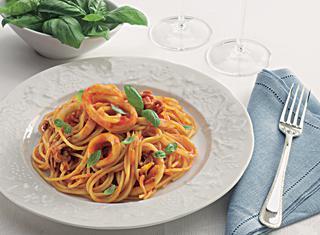 Ricetta Spaghetti al ragù di totano
