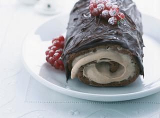 Ricetta Rotolo al cioccolato e crema di castagne