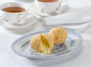Gelato alla vaniglia fritto
