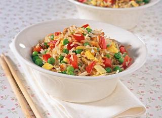Riso e verdure alla cinese