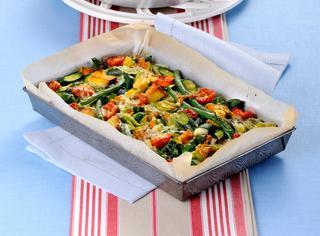 Ricetta Teglia di pane e verdure campagnole