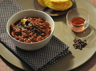Ricetta Chili con carne al cacao
